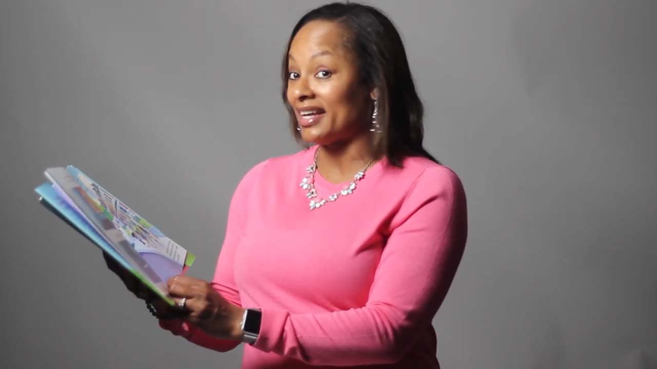 "Dr. Autum Jeter reads  ""The Fresh Princess""  by Denene Miner"