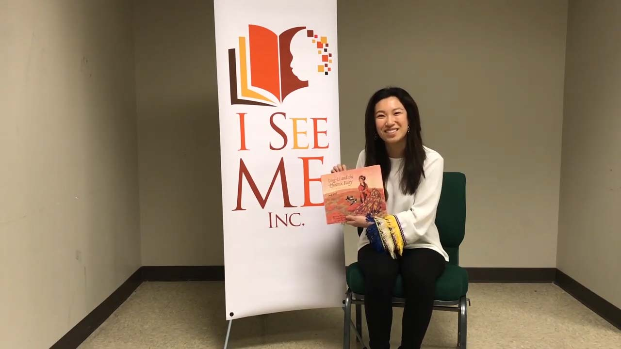 Mei Mei Sun, activist and student at the  University of Southern California reads Ling-Li and the Phoenix Fairy: A Chinese Folktale adapted by Ellin Greene and illustrated by Zong-Zhou Wang